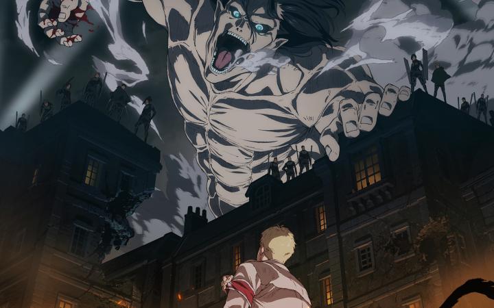 عرض الموسم 4 من أنمي Attack On Titan في ديسمبر أ نبوب